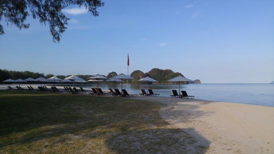 Tanjung Rhu Resort: 리조트 비치