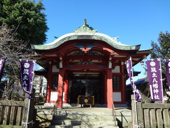 ‪Tsukudohachiman Shrine‬