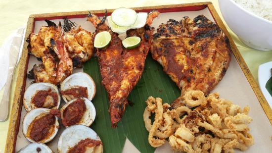 Jimbaran Bay Seafood Restaurant: IMG_20160124_172949_large.jpg