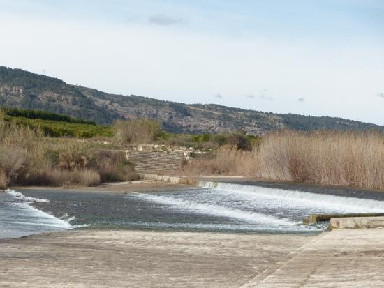 Antella, İspanya: Azud: Vista general del entorno