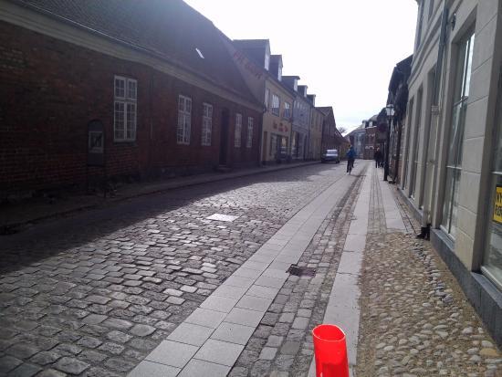 Ribe, Δανία: А улицы пусты