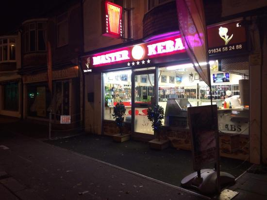 Gillingham, UK: Master Kebabs