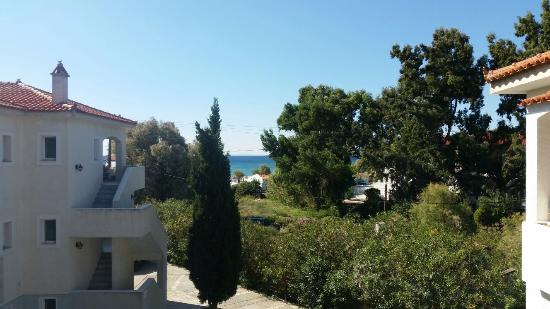 Hydrele Beach Hotel & Village: View from our balcony