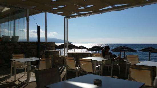 Potokaki, Yunanistan: Beach bar