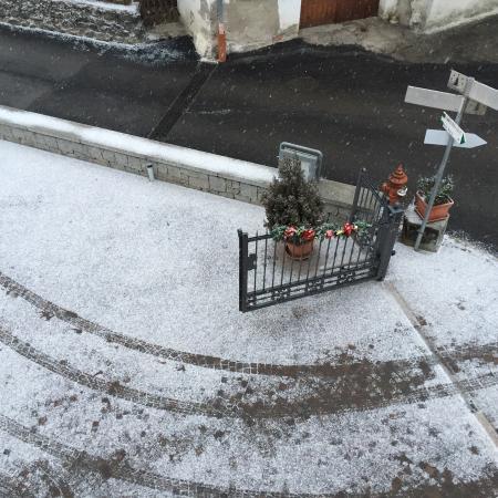 Bed and Breakfast Noemi: Inverno 2015 - i primi arrivi della neve
