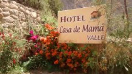 Hotel Casa de Mama Valle: entrada