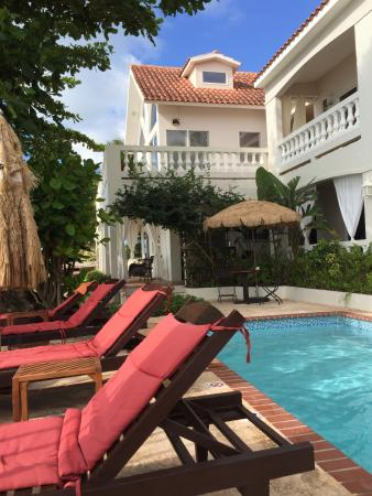 Tres Sirenas Beach Inn: Paradise!