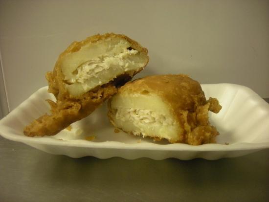 West Yorkshire, UK: Yorkshire Fishcake £1.60