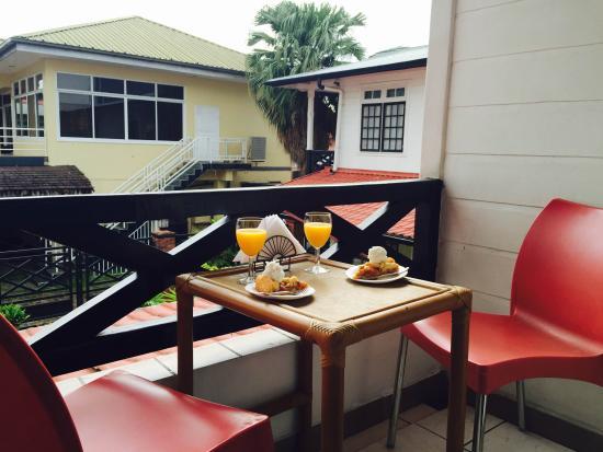 Zeelandia Suites: The Balcony
