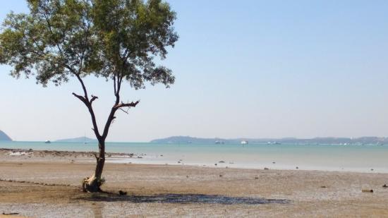 Baanpanwa Resort and Spa: beach