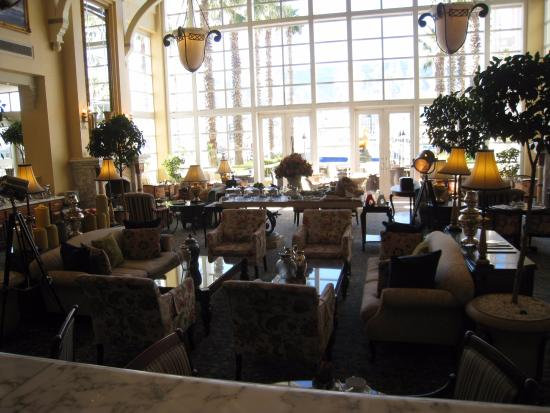 The Table Bay Hotel: В фойе