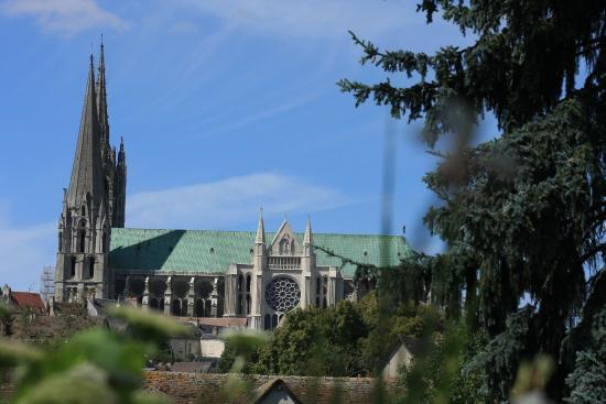 Cattedrale di Chartres: Vue du pont de La Courtille