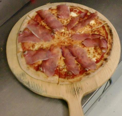 Fucecchio, Ιταλία: Pizza speck e mascarpone