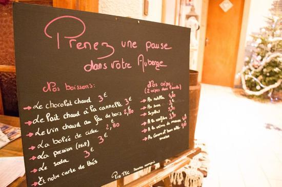 Areches, فرنسا: Envie d'une pause?