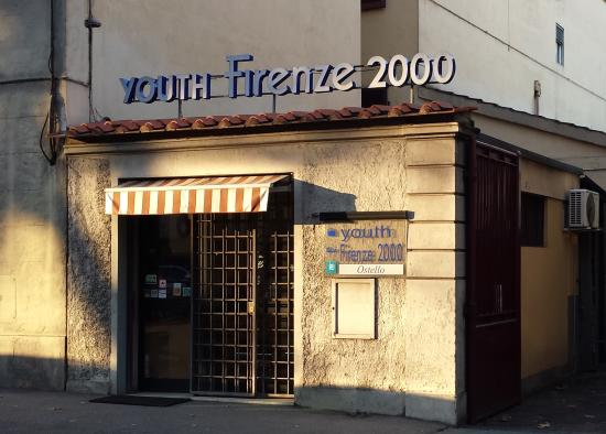 Youth Hostel Firenze 2000: Entrata principale