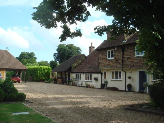 Bishopsbourne, UK: Court Lodge Farmhouse