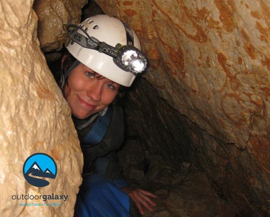 Bovec, Slovenien: Caving in Srnica cave