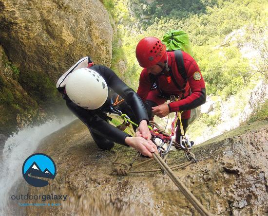 Bovec, Slovenien: Globoški potok Canyoning, Slovenia