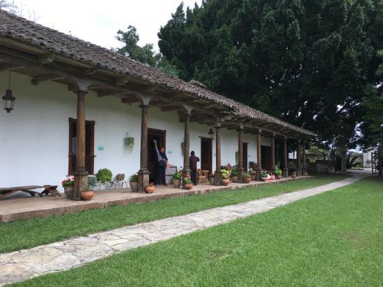 Staying at an old hacienda