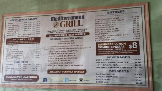 Decatur, GA: Mediterranean Grill