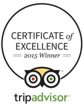 Craigag Lodge: Certificate