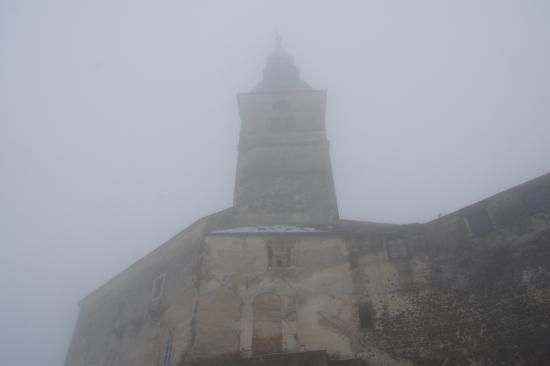 Gussing, Австрия: Замок в тумане