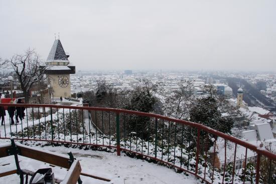 Grazer Schloßberg: Наверху