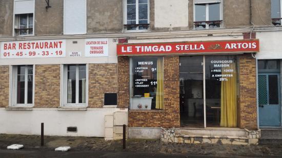 Villeneuve-Saint-Georges, Prancis: Devanture