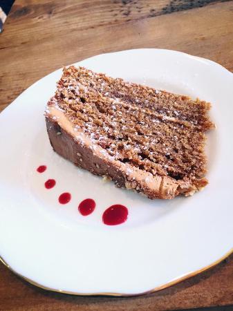 Deganwy, UK: Mocha Cake