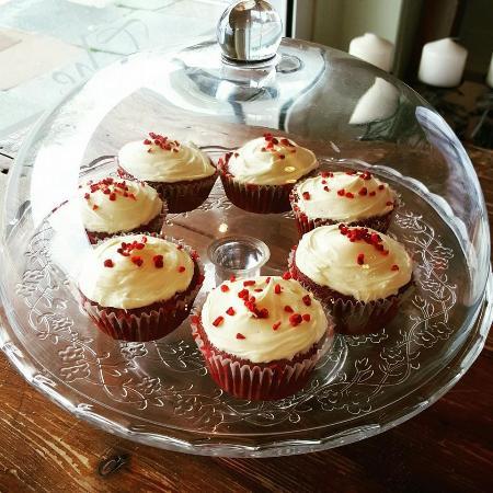 Deganwy, UK: Red Velvet Cupcakes