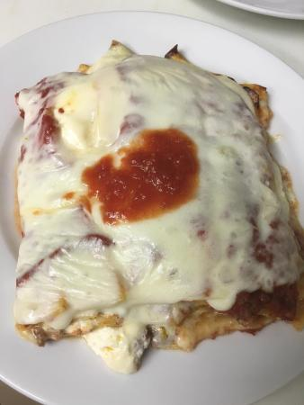 Hopewell Junction, NY: Our homemade lasagna