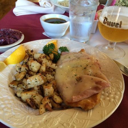 Cordon Blu Chicken Schnitzel