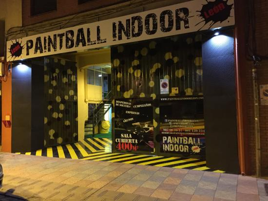 Paintball Indoor León