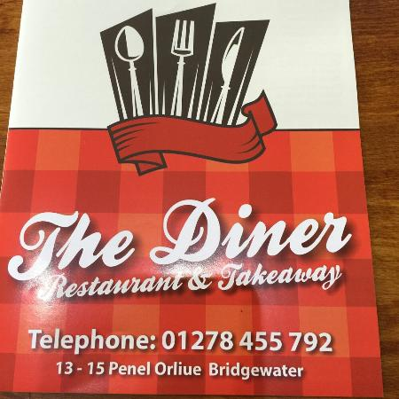 Bridgwater, UK: The Diner