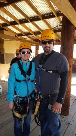 Camp Verde, AZ: We had a great time Nando (Brown Bear) and Alex (Predro) were great guides!!