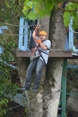 The Villas at Sunset Lane: Zip lining