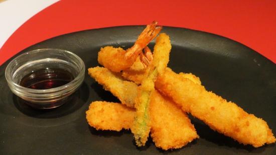 Zushi : Ebi tempura