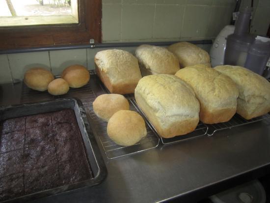 Playa Zancudo, Costa Rica: Home-made Bread, Rolls and Brownies
