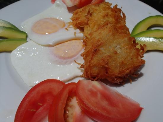 Playa Zancudo, Costa Rica: Breakfast Hash Browns