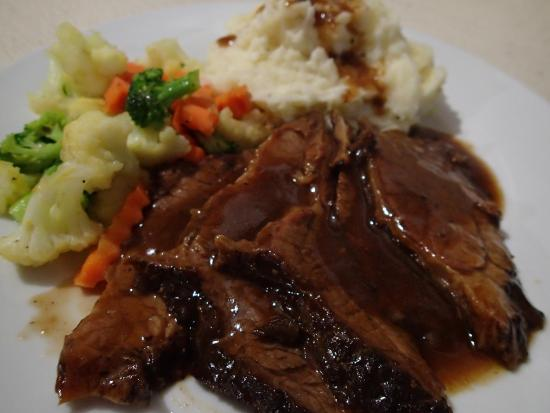 Sol y Mar: Slow Roasted Beef Brisket and GRAVY!!!