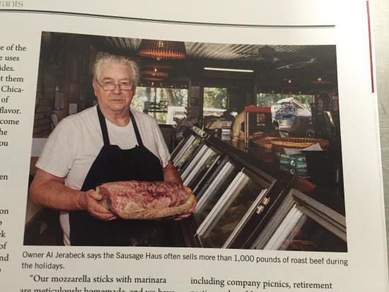 Oconomowoc, Wisconsin: Sausage Haus Meat and Deli