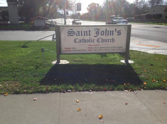 Milpitas, Kalifornia: Church board.