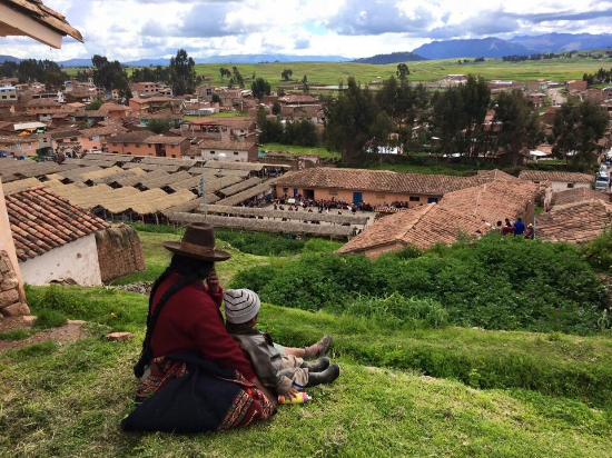 Chinchero, Peru: View of the valley...incredible!