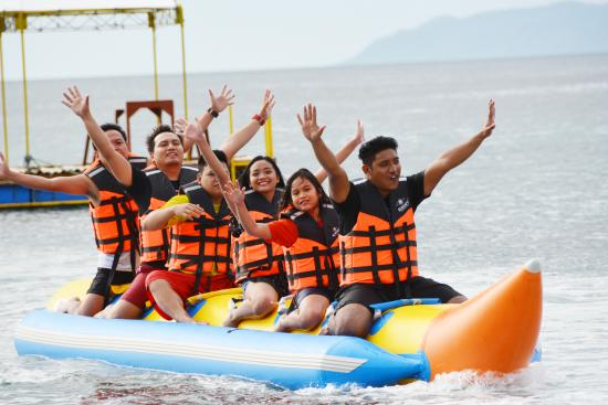 Bauan, Filippine: Banana Boat