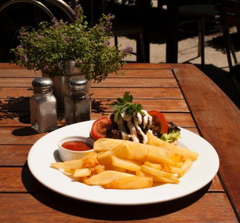 Arrowtown, นิวซีแลนด์: Tasty Steak Sandwich