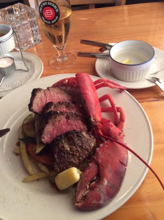King Crab Oyster Bar and Grill: Surf & Turf