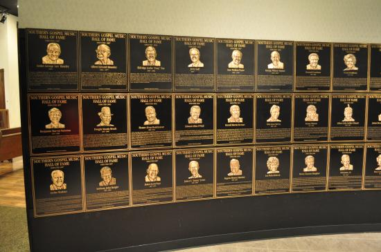 Southern Gospel Music Hall of Fame and Museum: Hall of Fame Inductees