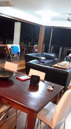 Mudjimba, Australia: Living area