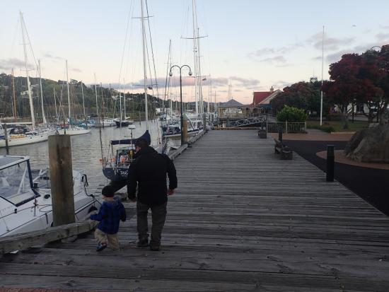 Whangarei, Nueva Zelanda: The Town Basin
