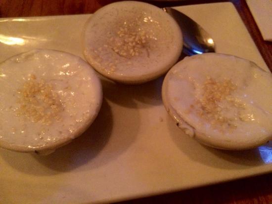 Zoob Zib Thai Noodle Bar : Thai coconut pudding
